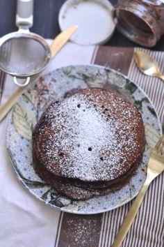 Chocolate Nutella Pancakes