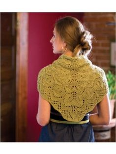 Conifer Shawl | InterweaveStore.com
