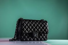 CHANEL Classic Flap Jumbo now available at Bagista for £3,600 RRP £4,450 - Shop our Chanel bag collection here https://bagista.co.uk/collections/chanel