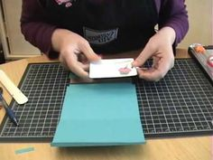 How to Make a Pulley Card - the following website has paper sizes http://www.michellesrubberroom.com/2010/04/how-to-make-pulley-card.html