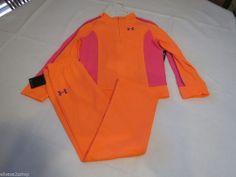 Under Armour UA Girls 2 pc Tracksuit Jacket Pants active Elect Tanger 6 youth*^ #UnderArmour #BasicJacket