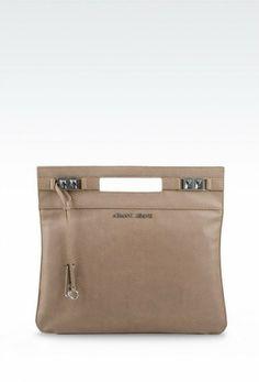 Armani Jeans - primavera-estate 2014 Clutch #beige #bag