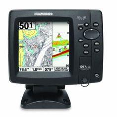 Humminbird HD DI Combo of Marine GPS Chartplotter and Fishfinder Fish Finder, Gps Tracking, Tracking Devices, Gps Navigation, Fishing Tips, Kayak Fishing, Cool Things To Buy, Geek Stuff, Ebay