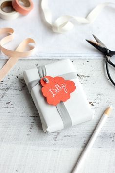 cute tag inspiration