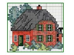 website w/ miniature needlework charts Cross Stitch House, Cross Stitch Books, Cross Stitch Needles, Cross Stitch Heart, Cross Stitching, Cross Stitch Embroidery, Cross Stitch Patterns, Willow Pattern, Needlepoint Patterns