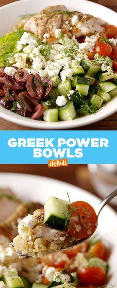 Greek Power Bowls