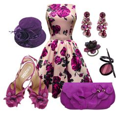 Love the dress minus the hat and the shoes though