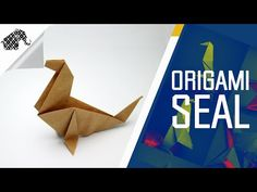 Origami - How To Make An Origami Seal - YouTube