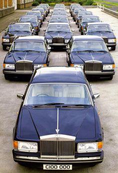 Rolls-Royce Sylver Spur Centenary 1985
