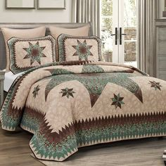 Quilted Bedspreads, Luxury Bedspreads, Quilt Sets Queen, Queen Bedding Sets, King Size Quilt Sets, Twin Quilt, Quilt Bedding, Star Bedding, Bed Quilts