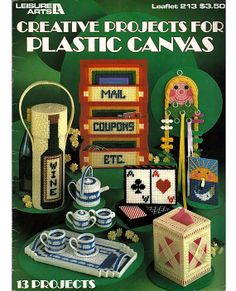 Creative Projects for Plastic Canvas Pattern by grammysyarngarden, $4.50