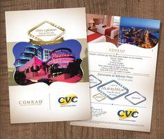 Campanha desenvolvida pela Premier: Parceria CVC x Hotel Conrad Punta del Este.