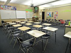 Awesome high school class setup