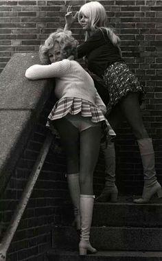 Mini Faldas en los 70's...