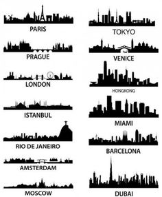 tattoo cityscapes?  the london one will be in my future. my favorite city ever! @Karli Taylor , we could eventually get matching London skylines.
