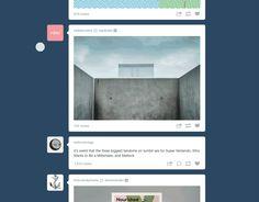 ONE: Tumblr actualiza su diseño y facilita la visualización de otros blogs sin abandonar el tablero de control