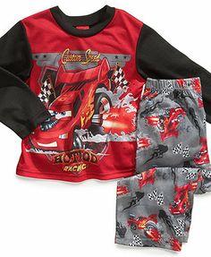 Disney Kids Pajamas, Toddler Boys 2-Piece Cars PJs