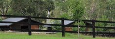 post and rail fencing - for horses
