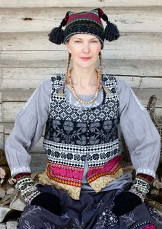 """""""Sirja"""" cotton vest – Blouses & waistcoats – GUDRUN SJÖDÉN – Webshop, mail order and boutiques   Colorful clothes and home textiles in natural materials."""