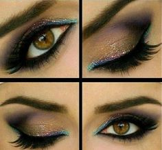 Hi Check out these insanely awesome eyeshadow designs for your eye make ups ideas. These are different eyeshadow designs. Pretty Makeup, Love Makeup, Makeup Tips, Makeup Looks, Awesome Makeup, Makeup Ideas, All Things Beauty, Beauty Make Up, Hair Beauty