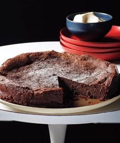 Chocolate Brownie Pie!