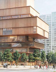 MODER ARCHITECTURE| Herzog & de Meuron, Vancouver museum| bocadolobo.com/ #modernarchitecture #architecture