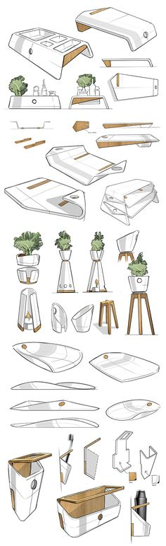 Sketches on Behance #id #industrial #design #product #sketch #s