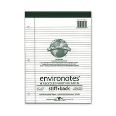 """roaring spring paper products legal pad, college ruled, perf., 8-1/2""""x11-3/4"""", 80 sheets"""