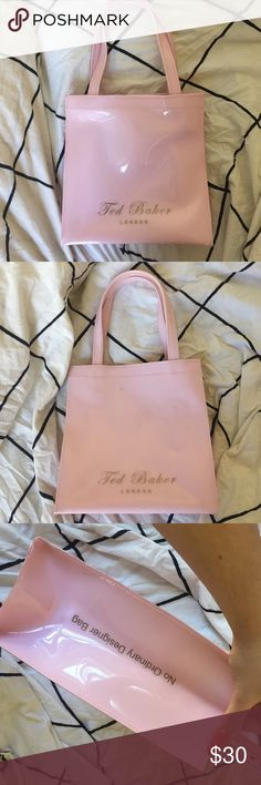 bcde0a090b6 Baby Pink Ted Baker Shopper Bag Used maybe twice but has a smudge mark on  the