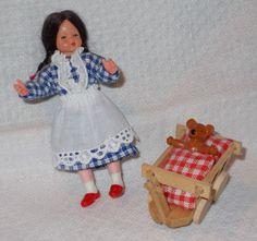 1 Puppenkind für die Puppenstube 1:12 Caco Canzler ??  in Antiquitäten & Kunst, Antikspielzeug, Puppen & Zubehör   eBay!
