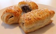 Eats treats and all things sweet! These homemade Clonakilty Sausage rolls are a divine combination of our black pudding and our delicious tasting&nbsp. Best Sausage, Apple Sausage, Ciabatta Roll, Sausage Sandwiches, Black Pudding, Sausage Rolls, Pesto Sauce, Tray Bakes, Keto Recipes