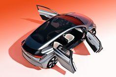 Renault Eolab: 1 op 100 met een hatchback Novo conceito no mundo automotivo, com o conceito de ser barato e que não seja um carro para salão, e sim um carro para uso de todos.