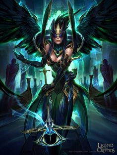 Angel extraña evolved legend of the cryptids