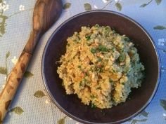 """Indian-Spiced Quinoa With Pine Nuts and Golden Raisins, from Robin Robertson's landmark cookbook """"Vegan Planet."""" This has a nice balance of spice and sweetness."""