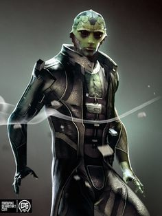 Thane Krios by ~MadSpike on deviantART #MassEffect #ThaneKrios