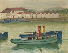 Albert Marquet, Saint-Jean de Luz, bateau de pêche