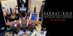 Sabbat Box is a Subscription Box for Witches, Wiccans and Pagans. Our curated subscription boxes arrive before each sabbat, filled with magical pagan supplies. Subscription Boxes, Monthly Subscription, Moon Witch, Eclectic Witch, Witchcraft Supplies, Candle Spells, Sabbats, Beltane, Book Of Shadows