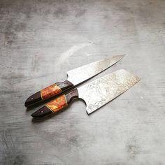 Handmade Chef Knife, Lucas Black, Knife Making, Cool Tools, Tool Design, Kitchen Knives, Knives, Cooks Knife
