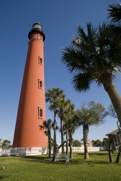 What's a beach road trip without a good lighthouse? About 10 miles south of Daytona Beach is the Ponce Inlet Lighthouse & Museum. Stop by for a photo op with the handsome red-brick tower built in 1887, then climb the 203 steps to the top for great views of the surrounding beaches.  A handful of historical buildings comprise the museum portion of your tour, including the lightkeeper's house and the Lens House, where there's a collection of Fresnel Lenses.