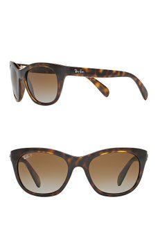 58b952c073 Ray-Ban - Highstreet 56mm Cat Eye Sunglasses