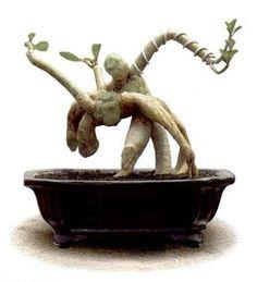 ~ Stunning Bonsai Sculpture ~ Dancers ~