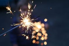 Sparklers are a welcome sight on the Fourth of July. Looks Party, What Makes You Beautiful, Beautiful Things, You're Beautiful, Bonfire Night, Just Dream, Tumblr Photography, Sparkler Photography, Stunning Photography
