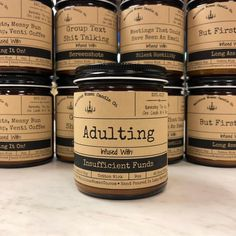 Malicious Women Candle Co. Paraffin Candles, Candle Wax, Soy Candles, Funny Candles, Yankee Candles, Scented Candles, Candle Gifts, Candle Craft, The Neighbor