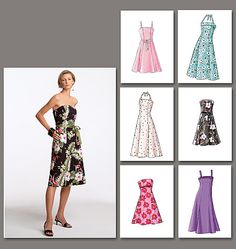 Vogue 7848, Dresses