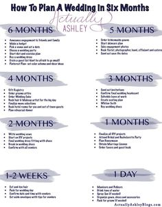 Take a look at the best wedding planning timeline in the photos below and get ideas for your wedding!!! Stay on top of your wedding planning with Brides Enterta