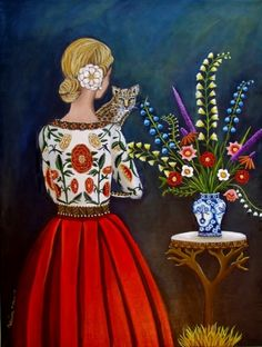 Lost and Found-New Work, painting by artist Catherine Nolin