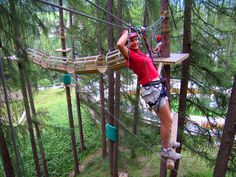 One of my favorite outdoor activities... ropes course!!