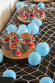 Kalamiehen kaverisynttärit - Minkun Matkassa Fishing, Cake, Party, Desserts, Food, Pastel, Deserts, Fishing Rods, Kuchen