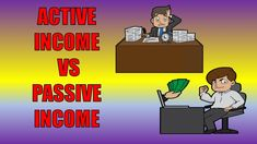 What Is Passive Income | Passive vs Active Income What Is Passive Income, Make Money Online, How To Make Money, Solo Ads, Busy At Work, Youtube, Youtubers, Youtube Movies