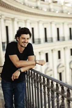 I've loved Orlando Bloom ever since I saw him as Legolas in the Lord of the Rings.